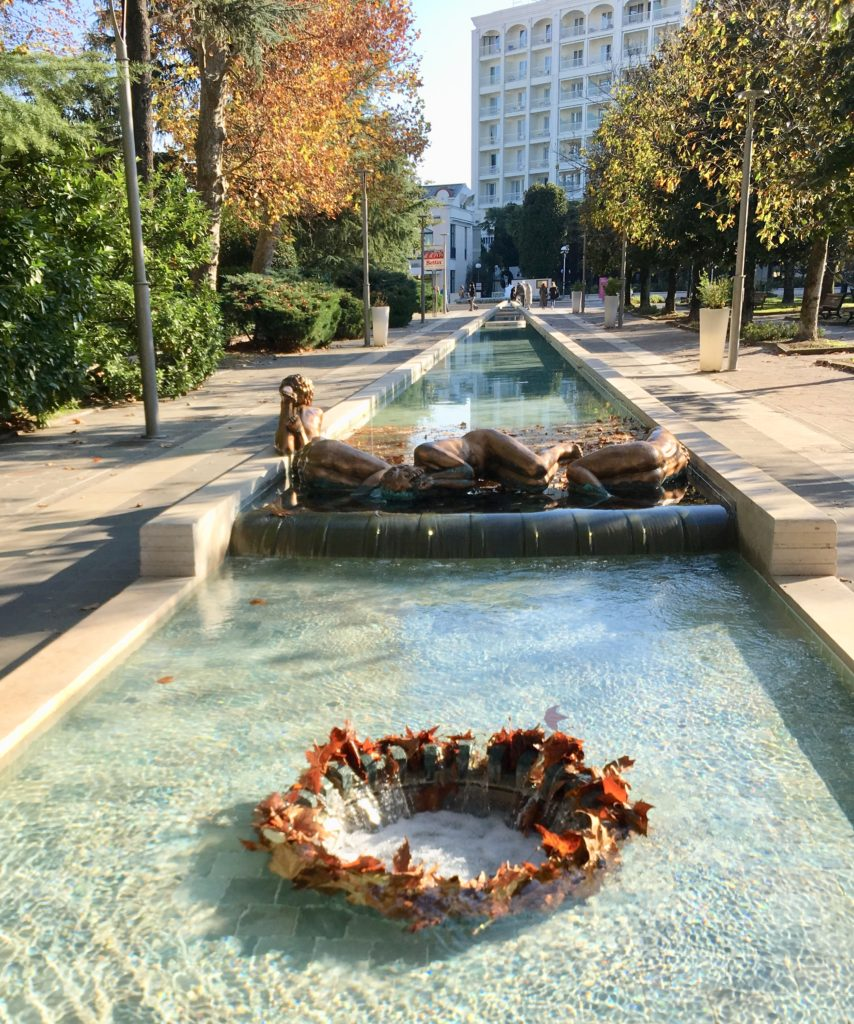 Абано Терме, фонтаны