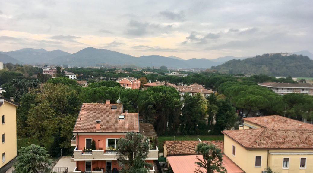 Эуганские холмы близ Абанно и Монтегротто