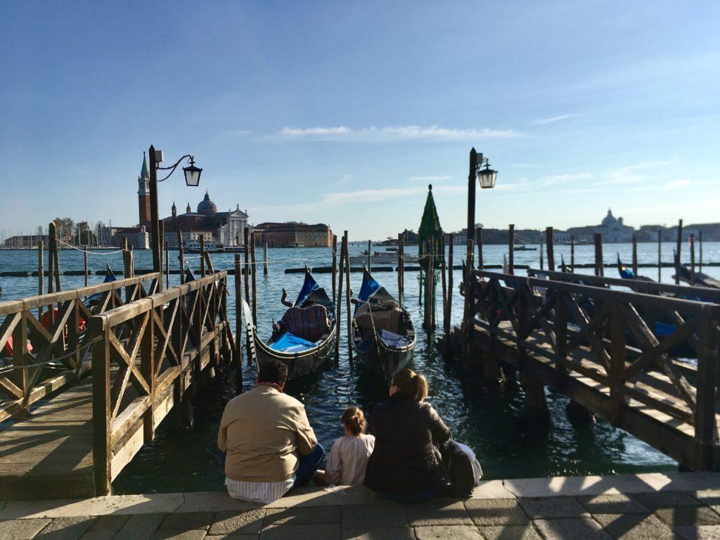 Венеция, пристань